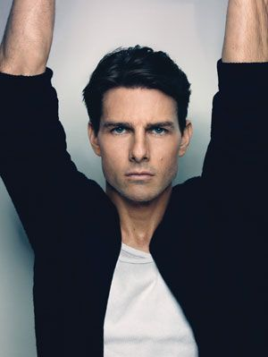 Tom Cruise..he may be nuts, but the man doesnt have to talk! seriously.. HAHA  just play the soundtrack to Top Gun, and Roda is perfectly ok with his insanity! LOL