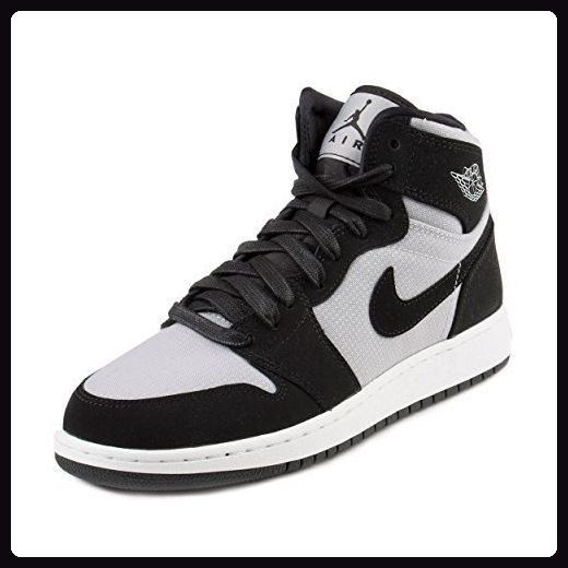 Nike Damen Air Jordan 1 Retro High GG Basketballschuhe, Gris (Wolf Grey / White-Black), 39 EU - Sneakers für frauen (*Partner-Link)