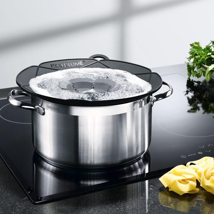 Kochblume® Geniale Idee schafft Überkochen ab.