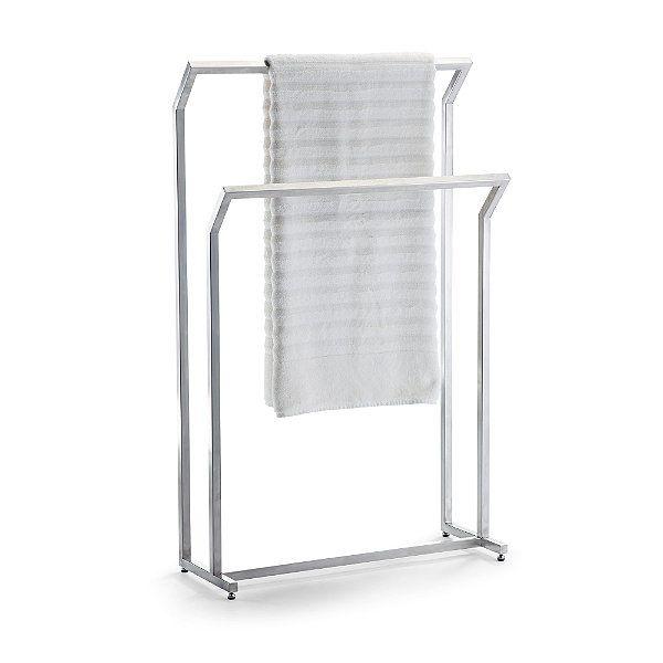 Marais Teak Stainless Free Standing Towel Rack. The 25  best Free standing towel rack ideas on Pinterest   Towel