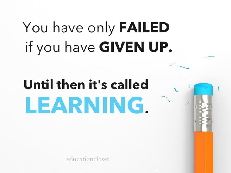 Shifting from a fixed to a growth mindset. We're always learning!