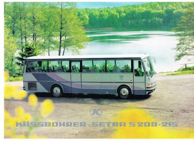 #1980 SETRA #S209-215  #BUS #Busworld #SETRA ( #1911 #Karl #Kässbohrer #Fahrzeugwerke #GmBH) #Daimler_AG #DE