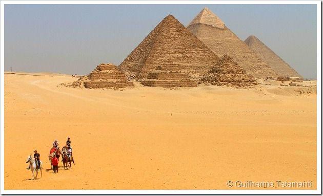 Fotos do Egito - As Pirâmides de Giza.