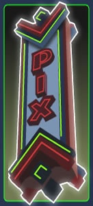 Pix Theatre --- cheap date night.  dinning and a movie all in one place.  watch a movie $5/ eat on top of that.  have fun.