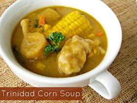 The Inner Gourmet: Trinidad Corn Soup
