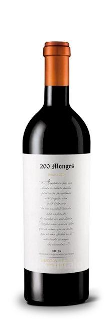 200 Monges Selección Especial 2004, Red wine Rioja at decantalo.com