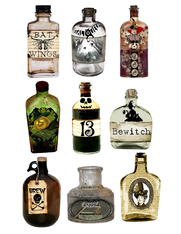 Halloween Decorations Potion Bottles Impressive Best 25 Halloween Potion Bottles Ideas On Pinterest  Halloween Inspiration Design