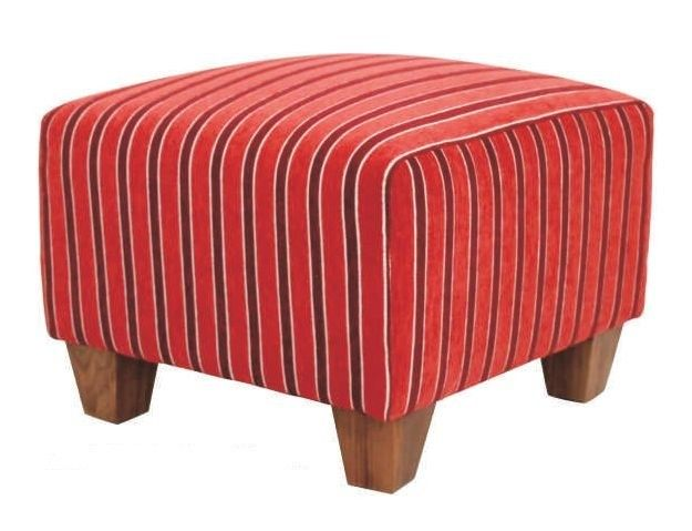 #Devonshire #Footstool - Red