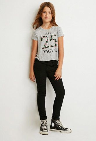 Clean Wash Skinny Jeans (Kids) | Forever 21 girls | #forever21kids