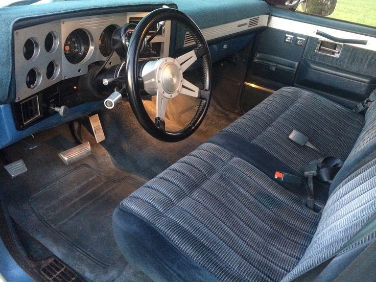 My Old 83 Silverado Interior Pic 2 Of 2 Note The
