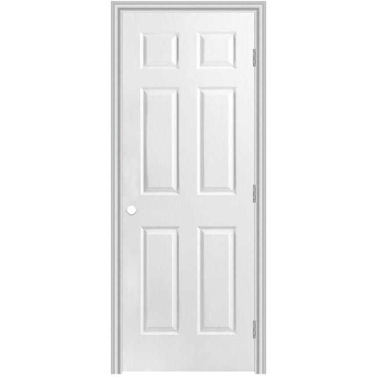 Masonite Classics Primed Solid Core Molded Composite Single Prehung Interior Door (Common: 30-in x 80-in; Actual: 31.5-in x 81.5-in)