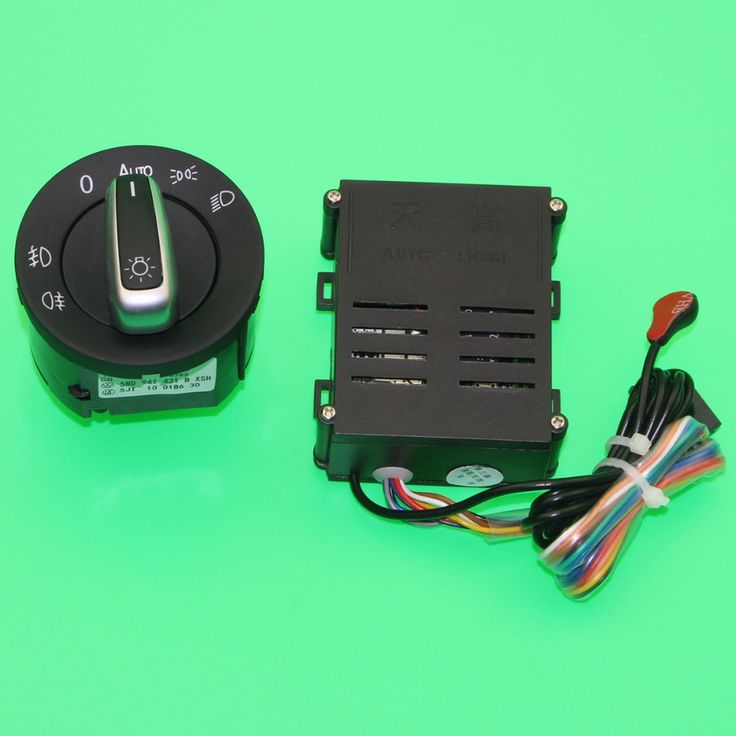 High Quality OEM AUTO HeadLight Sensor And Switch For VW Golf 4 JETTA MK4 Polo New Bora Passat B5 MK6 5ND 941 431B 5ND941431B