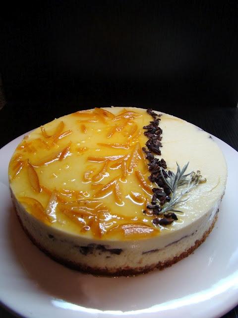 Ricotta Mousse Cake