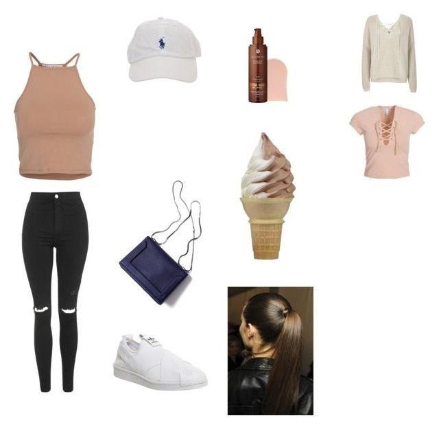 """""""Summer dayz"""" by marssysl on Polyvore featuring NLY Trend, River Island, Topshop, adidas, 3.1 Phillip Lim and Vita Liberata"""