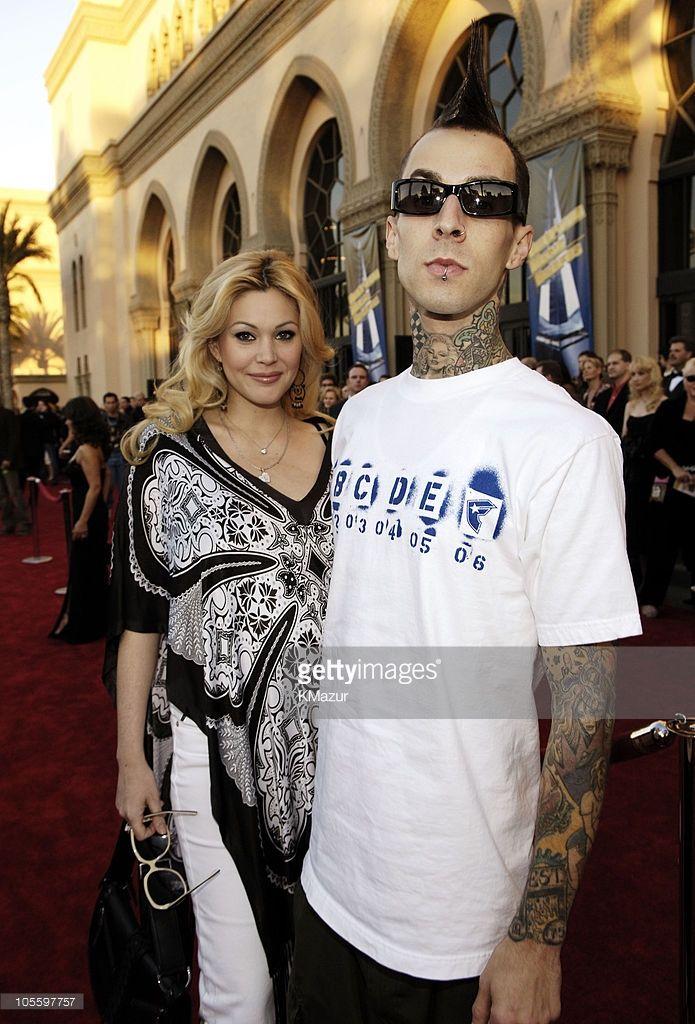 Shanna Moakler Reed and Travis Barker of Blink 182