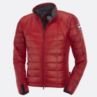 CANADA GOOSE MEN'S HYBRIDGE LITE JACKET RED Building on last year's newly  introduced Thermal Mapping concept