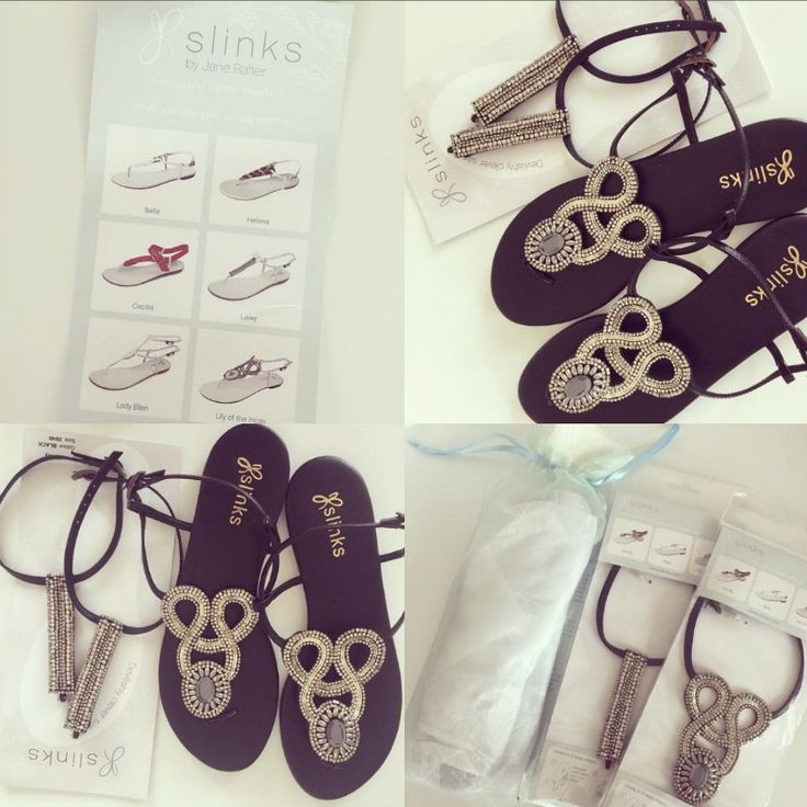 The best summer sandals ever! Slinks