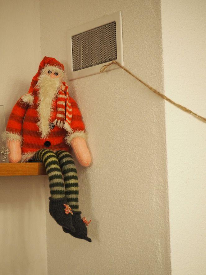 Knitted Santa