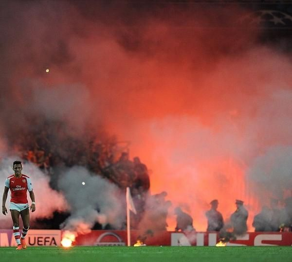 Alexis against Galatsaray!   Looking badass as usual  Arsenal