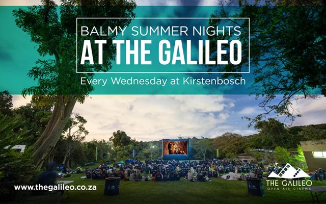 Horror fans unite! This open air cinema has a demonic head-turning classic on this week. The Galileo Open Air Cinema is back at The V&A Waterfront, Kirstenbosch Botanical Garden and Hillcrest Quary every day, from November 2014 to April 2015. www.capetownmagazine.com/galileo-open-air-cinema