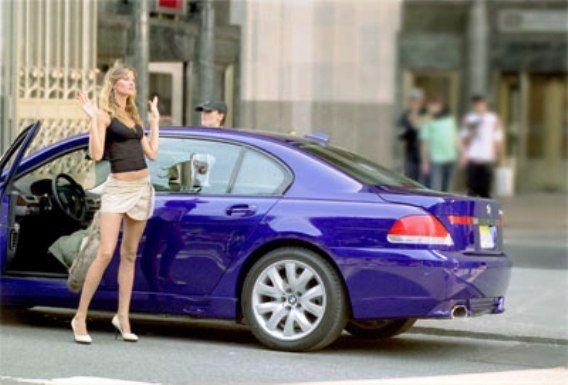 BMW 760 Li Sedan 2003 De Gisele Bundchen No Filme Taxi