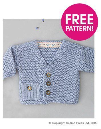 Windsor Cardigan Free Pattern | Deramores