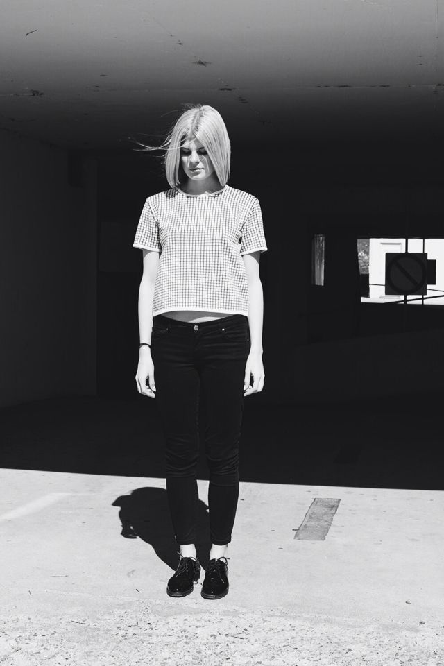Urban outfit #demiraknitwear #blackandwhite #geometric #urban #knitwear
