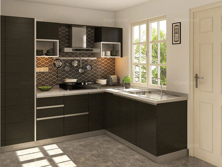 Best 25 kitchen shutters ideas on pinterest diy - L shaped indian modular kitchen designs ...