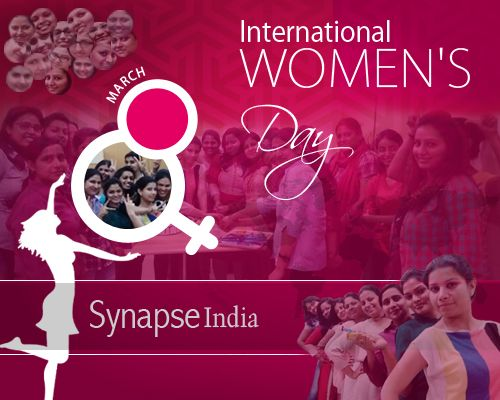 SynapseIndia wishes you all a very Happy #InternationalWomensDay