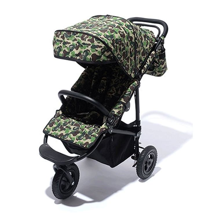 nice * A BATHING APE Goods BAPE KIDS ABC CAMO AIRBUGGY COCO Green Baby Stroller New Check more at https://aeoffers.com/product/baby-toys-and-games-clothing-shoes/a-bathing-ape-goods-bape-kids-abc-camo-airbuggy-coco-green-baby-stroller-new/