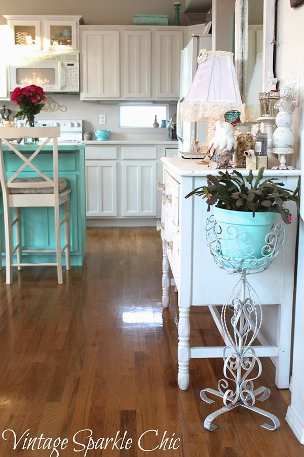 Shabby Chic Kitchen Decor Pictures