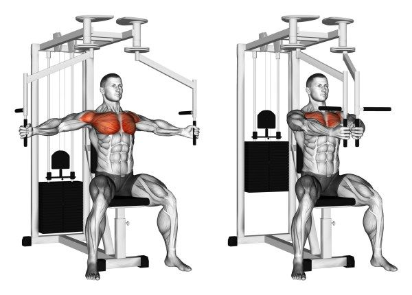 Moves for a bigger chest six pack deltoid workout gym