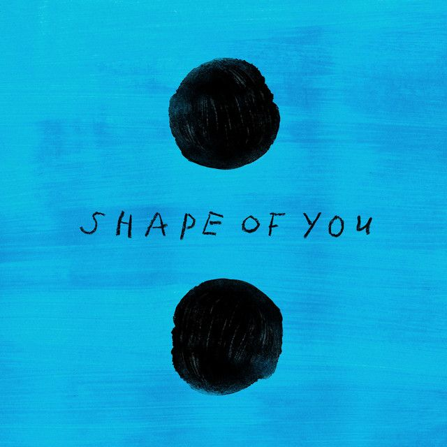 """Shape of You"" by Ed Sheeran added to Today's Top Hits playlist on Spotify From Album: Shape of You"