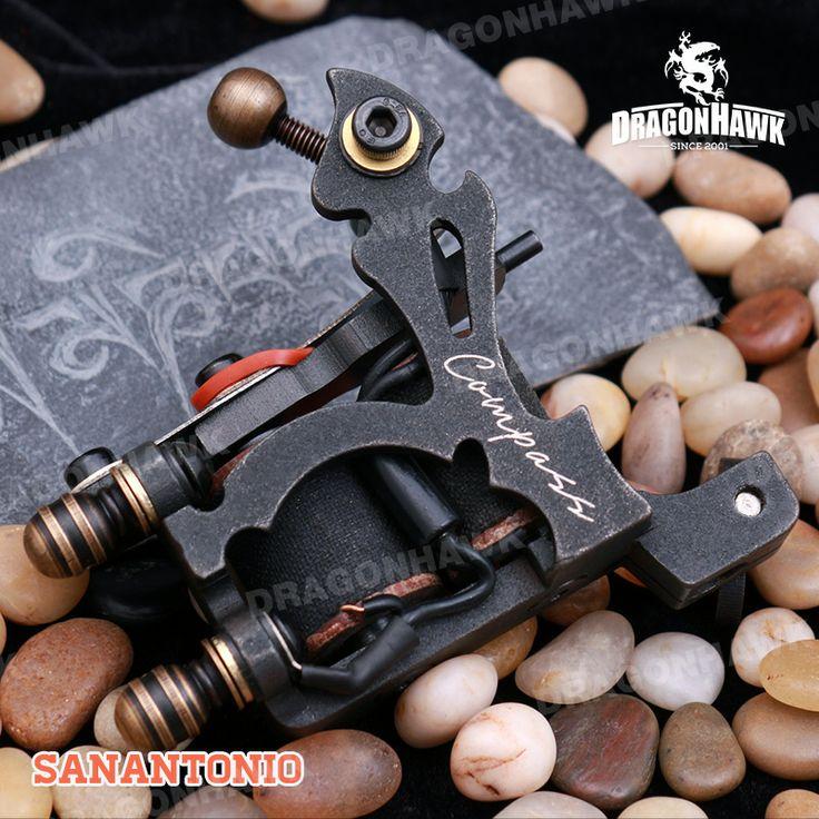 Compass Tattoo Machine SanAntoni Shader Steel Frame Copper Coils [WQ2066+WS124(0.5 DHL)] - US$159.00 : Dragonhawk tattoo supplies, tattoo kits,tattoo machines for sale global form tattoodiy.com