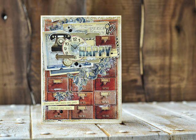 Блог Scrapberry's: Задание 46: скетч для открытки