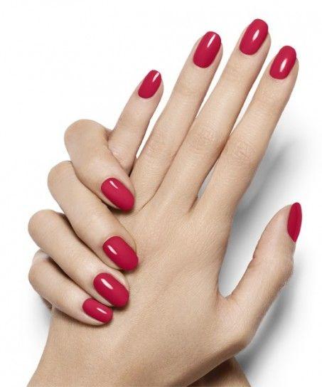 Rosso magenta tendenza unghie estate 2014