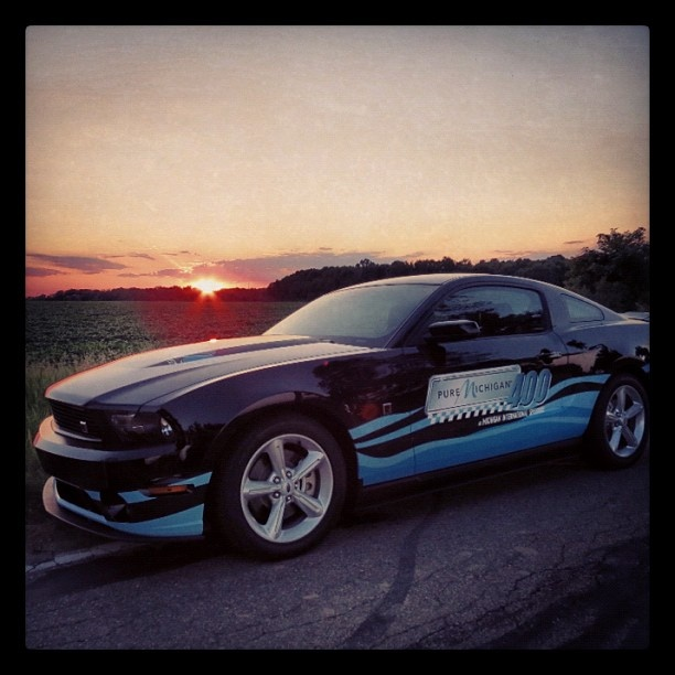 The custom-made Pure Michigan Ford Mustang