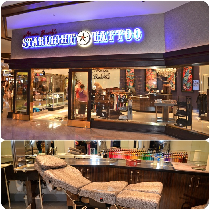 The Brand New Starlight #Tattoo Shop Is Now Open Here At