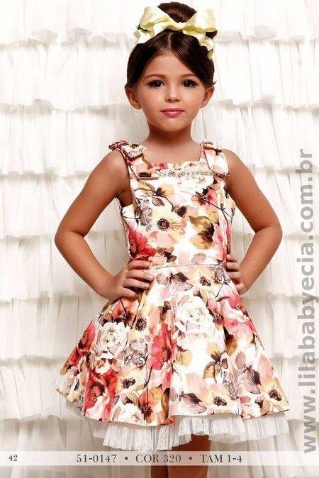 Vestido Infantil Miss Cake Doce Princesa 510147