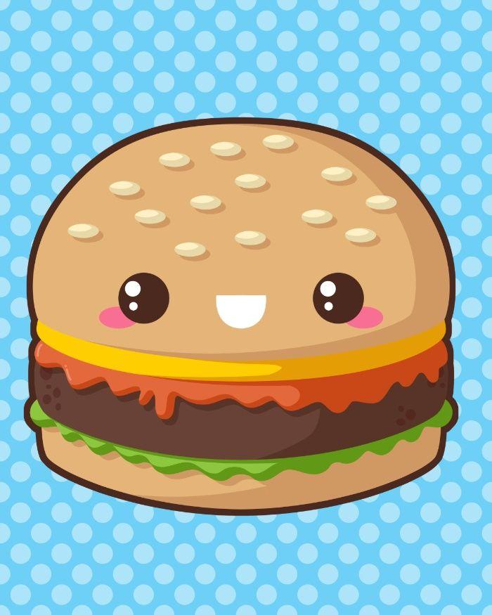 гамбургер картинки с глазами оформив