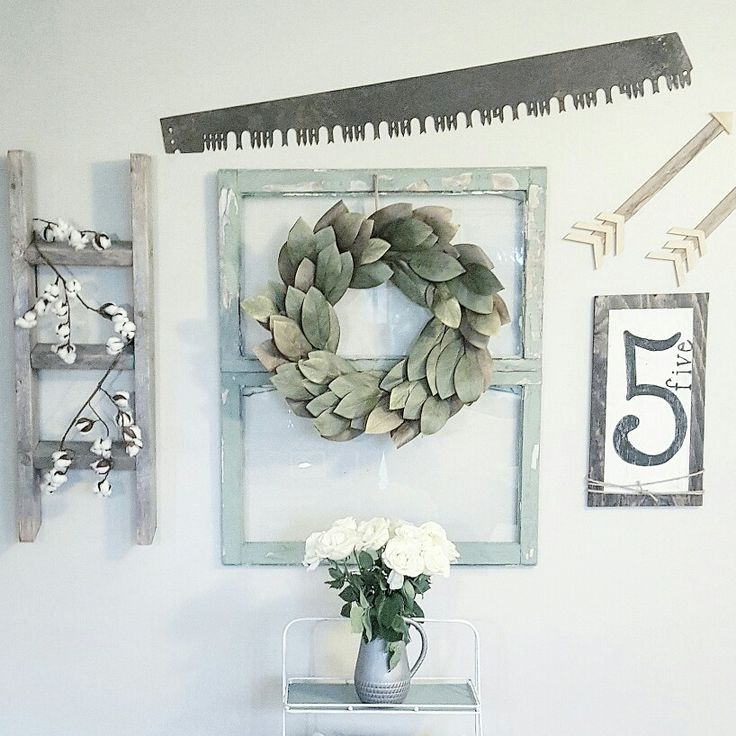 Gallery wall. Farmhouse decor By @blessed_ranch