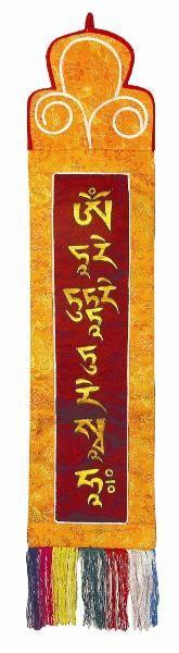 Tibetischer Wandbehang - Tara Mantra