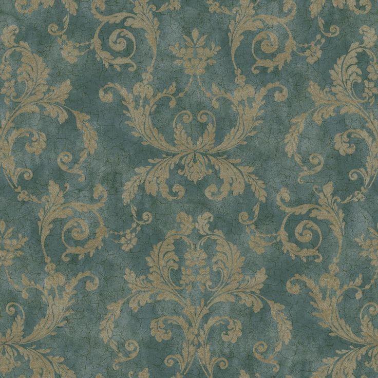 Wallpaper Inn Store - Gilded Damask Blue, R1.095,95 (http://shop.wallpaperinn.co.za/gilded-damask-blue/?page_context=category