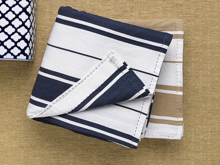 #pique #cotton bedding #summer stripes #boat textile# yatch textile #MugeKrespi collection