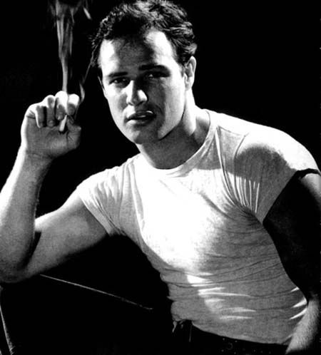 Marlon Brando is an American screen and stage actor. Who is considered one of the most important actors in American cinema. His is my History Crush. He is absolutely gorgeous. He became my history crush when I first saw him play Stanley in A Streetcar Named Desire. I'm only 18 but he is one gorgeous actor from the 1950s.