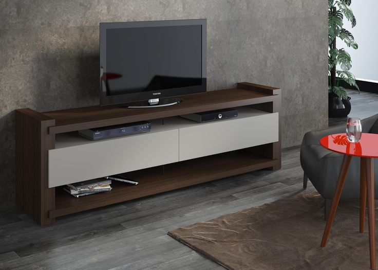 Nora Wenge/Off White TV Cabinet