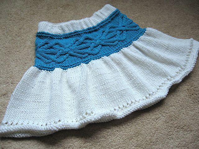 Ravelry: Sand Dance Skirt pattern by Elena Nodel