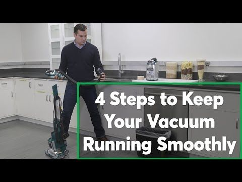 4 Steps to Keep Your Vacuum Running Smoothly | Consumer Reports - YouTube