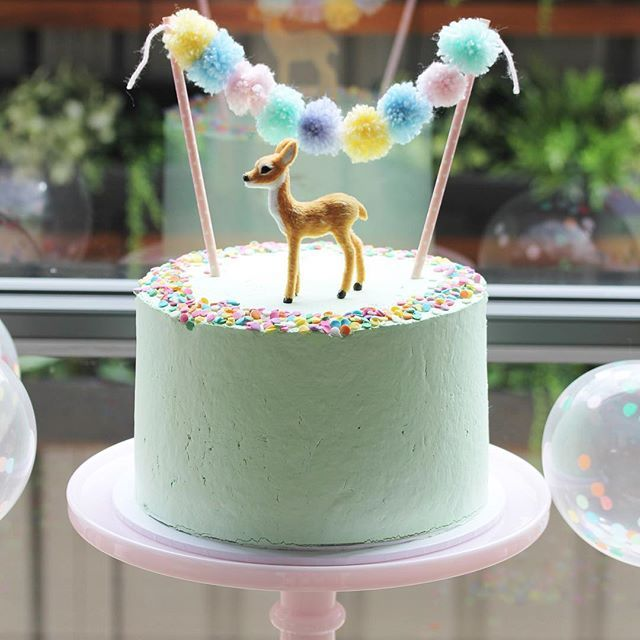 """""""Manchmal sind die einfachsten Dinge die besten! Liebe diese schöne Geburt in Pastellminze …   – Felix' 5th birthday"""