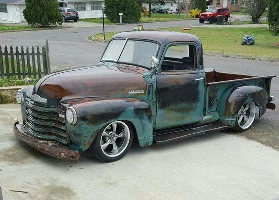 High gloss patina..